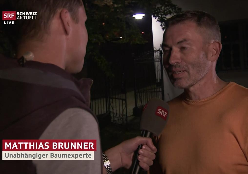 Matthias Brunner im Interview mit Schweiz Aktuell